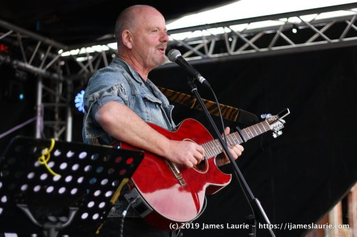 Anthony John Clarke at Folk on the Farm 2019 in Anglesey
