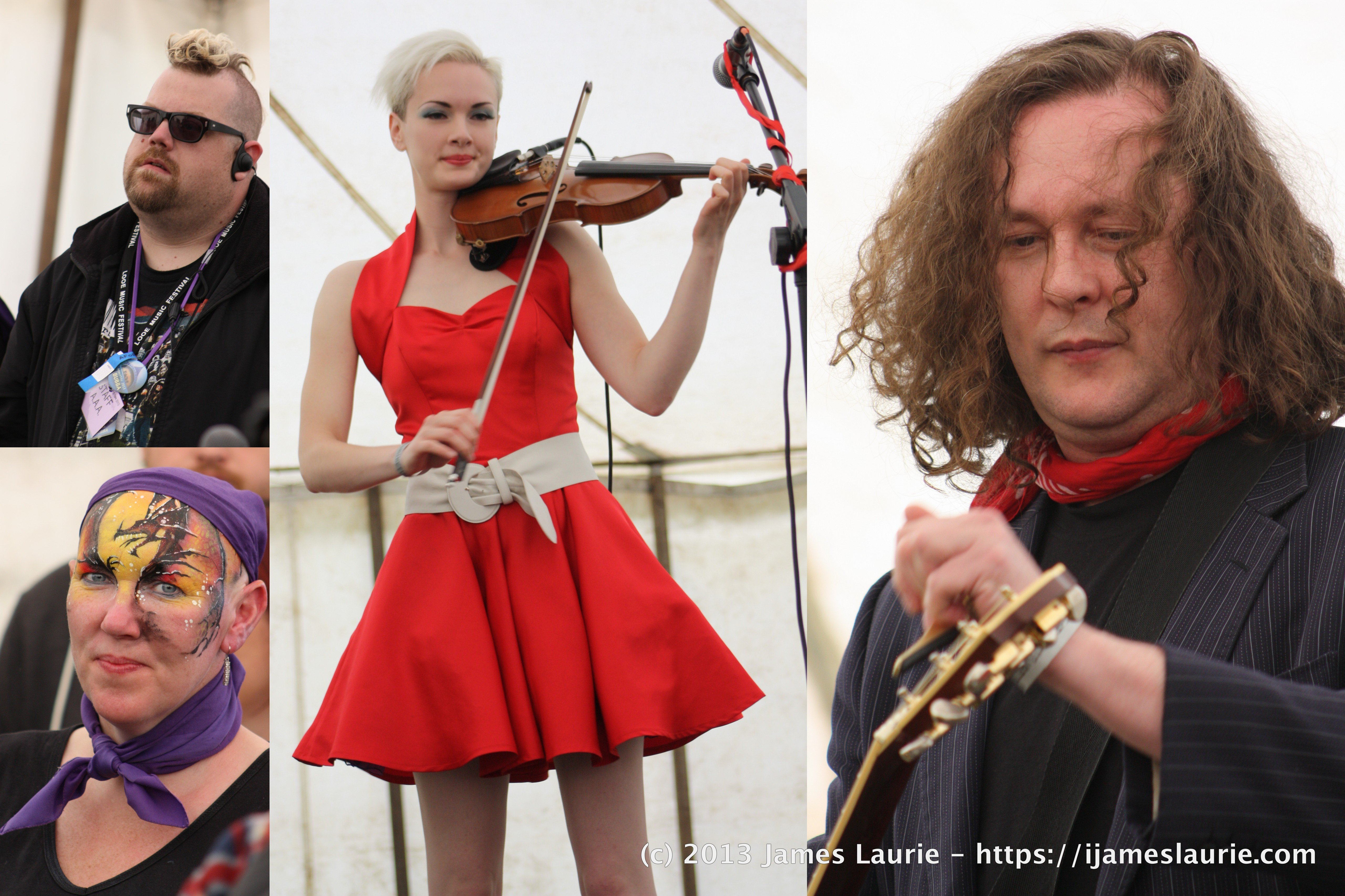 Miles Hunt & Erica Nockalls - Acoustic Festival of Britain 2013